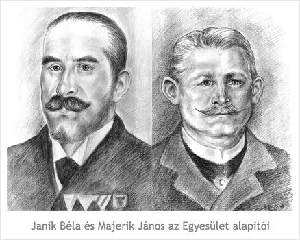 Janik Béla és Majerik János